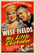 "Movie Posters:Comedy, My Little Chickadee (Universal, 1940). Folded, Very Fine-. One Sheet (27"" X 41"") Style D.. ..."