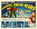 Movie Posters:Science Fiction, Invaders from Mars (20th Century Fox, 1953). Fine+ on Pape...