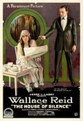 Movie Posters:Mystery, The House of Silence (Paramount, 1918). Fine/Very Fine on ...