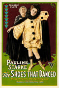 """Movie Posters:Drama, The Shoes That Danced (Triangle, 1918). Fine/Very Fine on Linen. One Sheet (27.5"""" X 41.25""""). James William Farrah Artwork.. ..."""