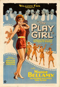 Movie Posters:Comedy, The Play Girl (Fox, 1928). Flat Folded, Fine/Very Fine.