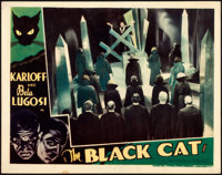 "The Black Cat (Universal, 1934). Very Fine-. Lobby Card (11"" X 14"")"
