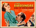 Movie Posters:Drama, A Bill of Divorcement (RKO, 1932). Very Fine-. Tit...