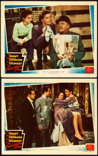 "The Philadelphia Story (MGM, 1940). Very Fine- on Cardstock. Autographed Lobby Card & Lobby Card (11"" X 14&..."