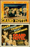 Movie Posters:Academy Award Winners, Grand Hotel (MGM, 1932). Fine. Title Lobby Card & ...