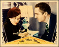 Movie Posters:Mystery, The Thin Man (MGM, 1934). Fine/Very Fine on Cardstock....