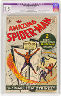 Silver Age (1956-1969):Superhero, The Amazing Spider-Man #1 (Marvel, 1963) CGC Apparent VG- 3.5Slight (A) Off-white pages....