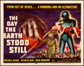 "Movie Posters:Science Fiction, The Day the Earth Stood Still (20th Century Fox, 1951). Very Fine.Title Lobby Card (11"" X 14"").. ..."
