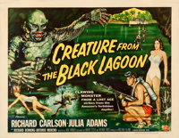 "Creature from the Black Lagoon (Universal International, 1954). Fine/Very Fine on Paper. Half Sheet (22"" X 28""..."