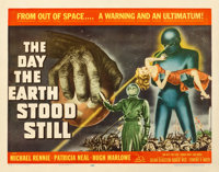 "The Day the Earth Stood Still (20th Century Fox, 1951). Very Good on Paper. Half Sheet (22"" X 28"")"