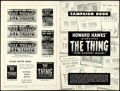 Movie Posters:Science Fiction, The Thing from Another World (RKO, 1951). Fine+. U...