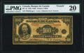 World Currency, Canada Bank of Canada $100 1935 BC-16 PMG Very Fine 20.. ...