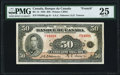 World Currency, Canada Bank of Canada $50 1935 BC-14 PMG Very Fine 25.. ...