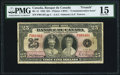 World Currency, Canada Bank of Canada $25 6.5.1935 BC-12 Commemorative PMG Choice Fine 15.. ...