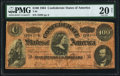 Confederate Notes:1864 Issues, T65 $100 1864 PF-3 Cr. 494 PMG Very Fine 20 Net.. ...