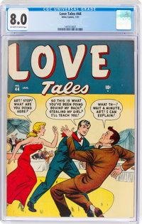 Love Tales #44 (Atlas, 1951) CGC VF 8.0 Off-white to white pages