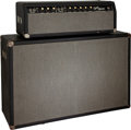 Musical Instruments:Amplifiers, PA, & Effects, 1965 Fender Bandmaster Black Guitar Amplifier, Serial # A14044.... (Total: 2 )