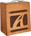 Musical Instruments:Amplifiers, PA, & Effects, 1964 Alamo Model 3 Natural Guitar Amplifier, Serial # 604405....