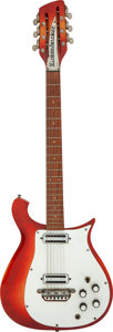 Musical Instruments:Electric Guitars, 1965 Rickenbacker 450-12 Fireglo Solid Body Electric Guita...