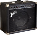 Musical Instruments:Amplifiers, PA, & Effects, Circa 1997 Fender Frontman 25R Black Guitar Amplifier, Serial # M454770....