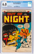 Golden Age (1938-1955):Horror, Out of the Night #16 (ACG, 1954) CGC FN 6.0 Off-white to white pages....