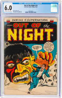 Out of the Night #16 (ACG, 1954) CGC FN 6.0 Off-white to white pages