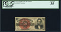 Fractional Currency:Fourth Issue, Fr. 1374 50¢ Fourth Issue Lincoln PCGS Very Fine 35.. ...