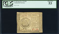 Colonial Notes:Continental Congress Issues, Continental Currency September 26, 1778 $50 PCGS About New 53.. ...