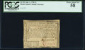 Colonial Notes:Rhode Island, Rhode Island July 2, 1780 $1 PCGS Choice About New 58.. ...