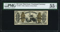 Fractional Currency:Third Issue, Fr. 1362 50¢ Third Issue Justice PMG About Uncirculated 55 EPQ.. ...