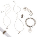 Estate Jewelry:Lots, Sterling Silver Jewelry, Tiffany & Co. . ... (Total: 6 Items)