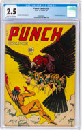 Golden Age (1938-1955):Superhero, Punch Comics #20 (Chesler, 1947) CGC GD+ 2.5 Cream to off-white pages....