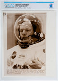 """Explorers:Space Exploration, AP Original Wirephotos: """"Slated to be First Man on Moon"""" July 20, 1969, Directly From The Armstrong Family Collection™, CA..."""