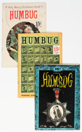 Silver Age (1956-1969):Alternative/Underground, Humbug Group of 5 (Humbug, 1957-58) Condition: Average VG/FN.... (Total: 5 )