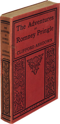 [R. Austin Freeman and Dr. John James Pitcairn]. Clifford Ashdown. The Adventures of Romney Pringle. London: Ward, L