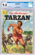 Golden Age (1938-1955):Adventure, Tarzan #69 (Dell, 1955) CGC NM 9.4 Off-white to white pages....