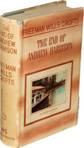 Books:Mystery & Detective Fiction, Freeman Wills Crofts. The End of Andrew Harrison. London: [1938]. First edition.. ...