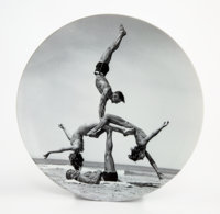 Jeff Koons X Bernardaud WOW (Works on Whatever), 2011 Porcelain plate 10-1/2 inches (26.7 cm) diameter Edition of 70