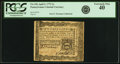 Colonial Notes:Pennsylvania, Pennsylvania April 3, 1772 2s PCGS Extremely Fine 40.. ...