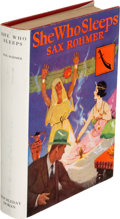 Books:Mystery & Detective Fiction, Sax Rohmer. She Who Sleeps. Garden City: 1928. First edition.. ...