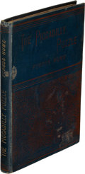Books:Mystery & Detective Fiction, Fergus Hume. Two Copies of The Piccadilly Puzzle. London: 1889. First edition. One inscribed.. ... (Total: 2 Items)