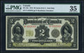 Canadian Currency, Canada Dominion of Canada $2 2.1.1914 DC-22e PM...