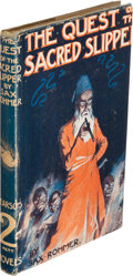 Books:Mystery & Detective Fiction, Sax Rohmer. The Quest of the Sacred Slipper. London: [1919]. First edition.. ...