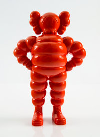 KAWS (American, b. 1974) Chum (Pink), 2002 Cast resin 12-5/8 x 8-1/4 x 4-1/4 inches (32.1 x 21 x