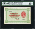 World Currency, Seychelles Government of Seychelles 10 Rupees 1928...
