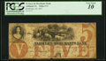 Obsoletes By State:Iowa, Ashland, IA- Farmers and Merchants Bank $5 Oct. 20, 1857 PCGS Very Good 10.. ...