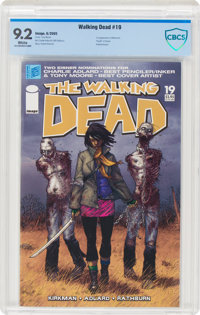 The Walking Dead #19 (Image, 2005) CBCS NM- 9.2 White pages