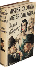 Books:Mystery & Detective Fiction, Peter Cheyney. Group of Four Collins Books. London: 1941-1947. First editions. Three signed or inscribed.. ... (Total: 4 Items)