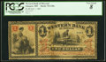 Obsoletes By State:Missouri, St. Joseph, MO- Western Bank of Missouri at Glasgow Branch $1 July 1, 1861 G38a PCGS Very Good 8.. ...