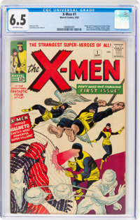 X-Men #1 (Marvel, 1963) CGC FN+ 6.5 Off-white pages